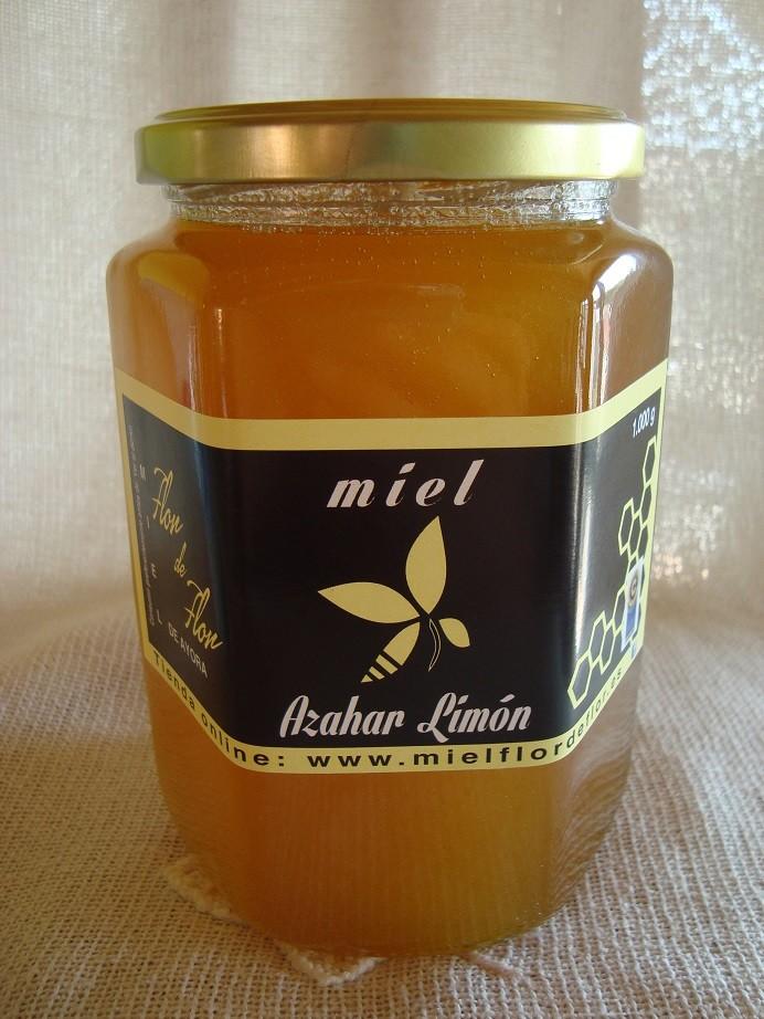 Miel de Azahar Limón  1000 Gr.