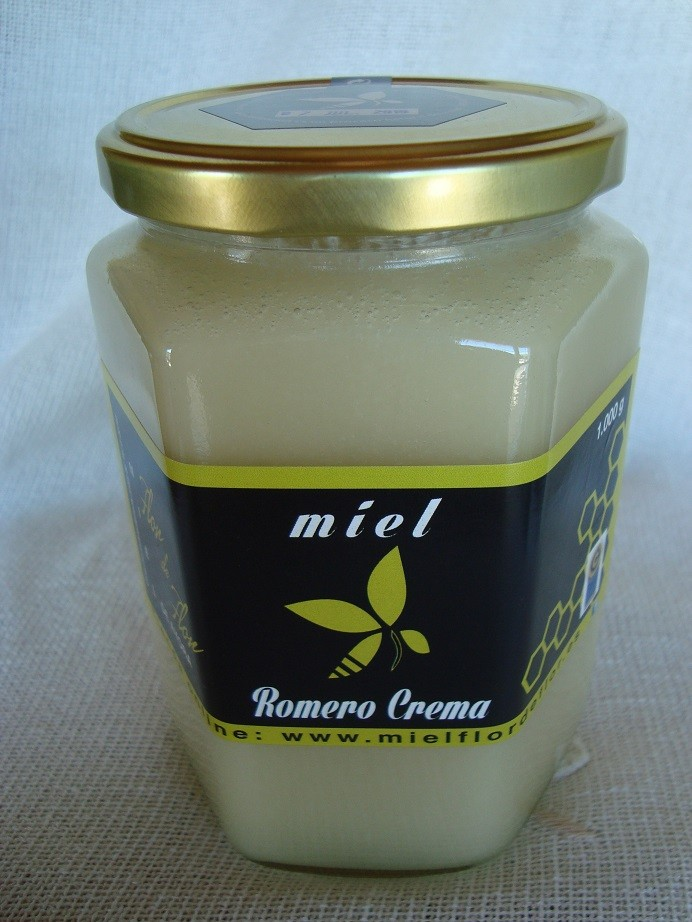 Miel de Romero Crema 1000 gr.